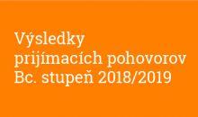 Výsledky doplňujúcich prijímacích pohovorov Sochárstvo a priestorová tvorba 2016/2017