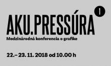 AKU.Pressúra - Medzinárodná konferencia o grafike