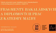 Výstava: Fragmenty bakalárskych a diplomových prác z katedry maľby