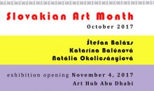 Výstava: Slovakian Art Month v Abu Dhabi